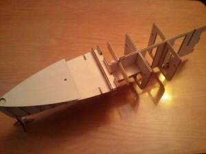 Postav si Titanic od Hachette 5.diel