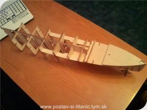 Postav si Titanic od Hachette 7.diel