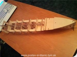 Postav si Titanic od Hachette 8.diel
